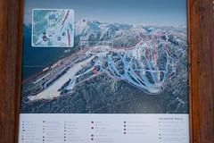 Grouse mountain Ski map