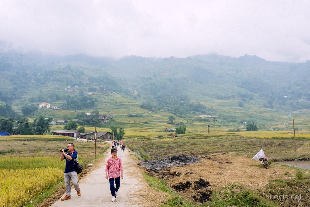 Sapa trekking - trail