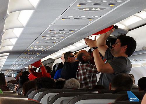 LATAM pasajeros embarcando A321 2 (RD)