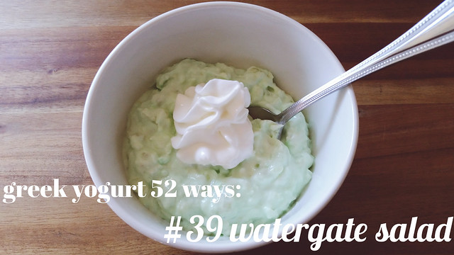 greek yogurt 52 ways: # 39 watergate salad