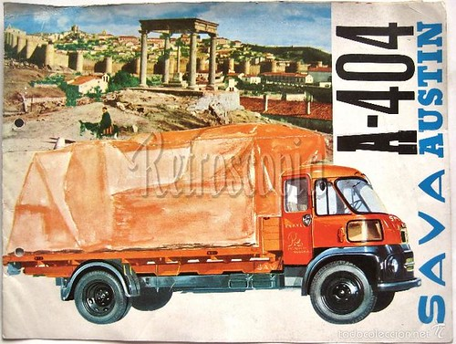 portada catàleg camió Sava Austin A-404