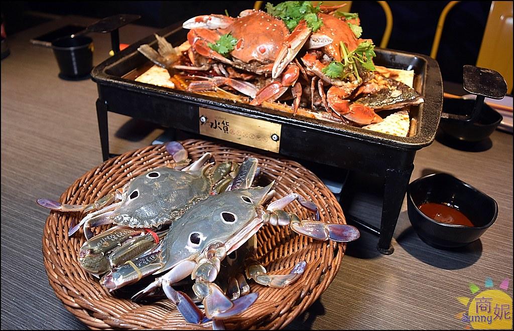 水貨螃蟹烤魚8
