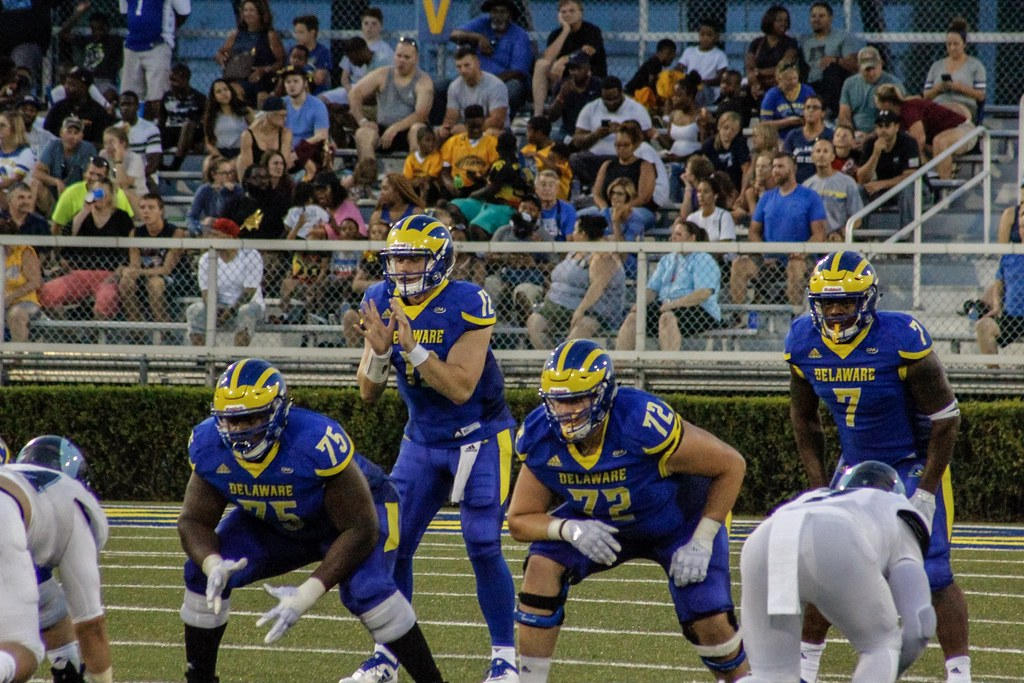 Delaware's Pat Kehoe settles into role as starting quarterback