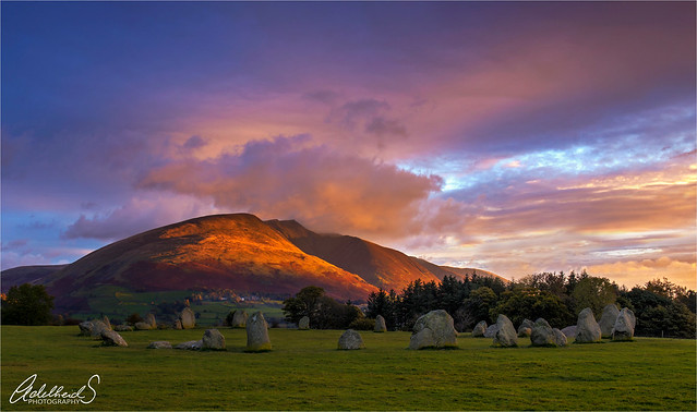 Early morning at Castlerigg, English Lake District