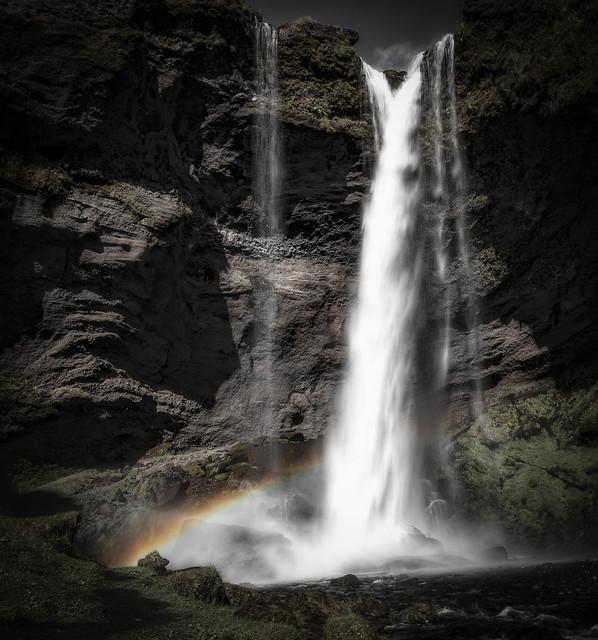 Kvernufoss, Nikon D850, AF-S VR Zoom-Nikkor 24-85mm f/3.5-4.5G IF-ED