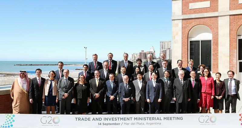 Foto de Familia - Reunión ministerial de Comercio e Inversiones, Mar del Plata