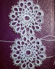 Tatting w/ Lace Weight Yarn