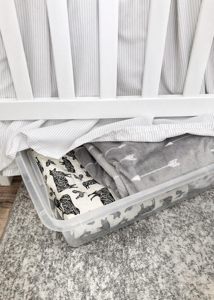 Underbed Storage Crib