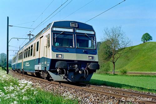 RBDe 4/4 GBS bei Oberdiessbach, P8138025-1