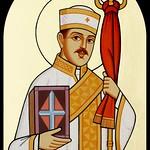 القديس حبيب جرجس - بريشة كاتب الأيقونة الأرثوذكسية جرجس سمير