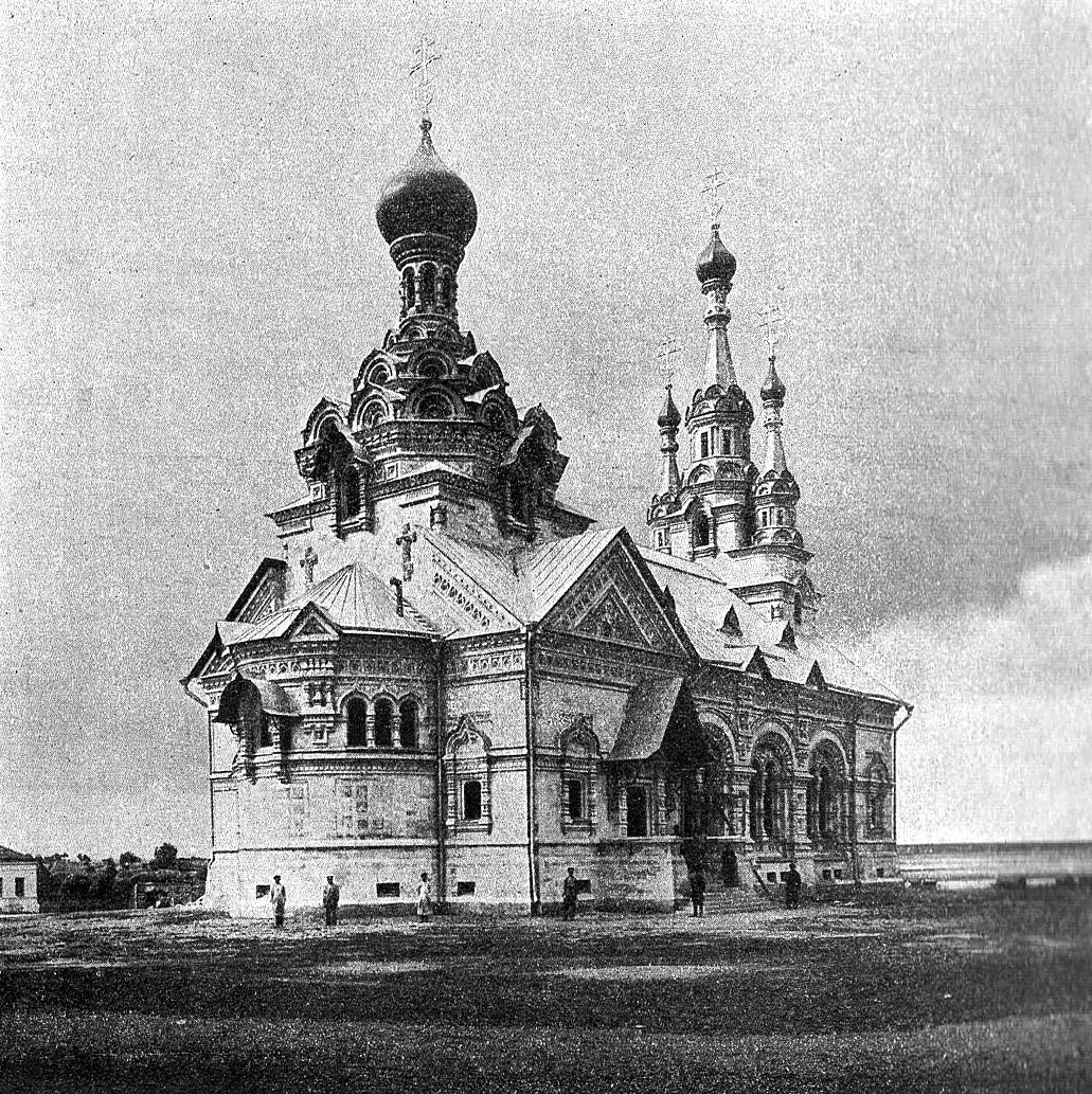 Окрестности Данкова. Село Берёзовка. Церковь Димитрия Солунского