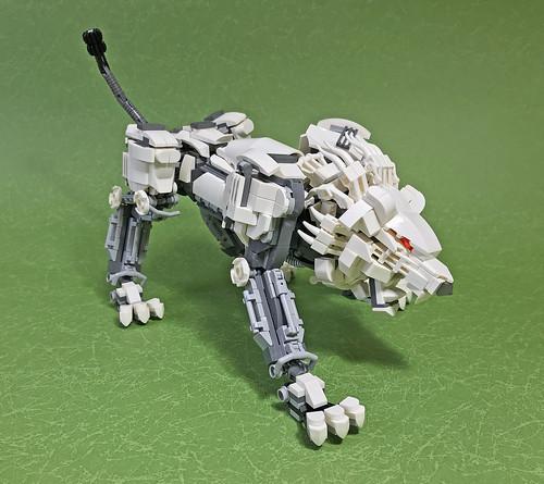 LEGO Mech Lion ver2-10