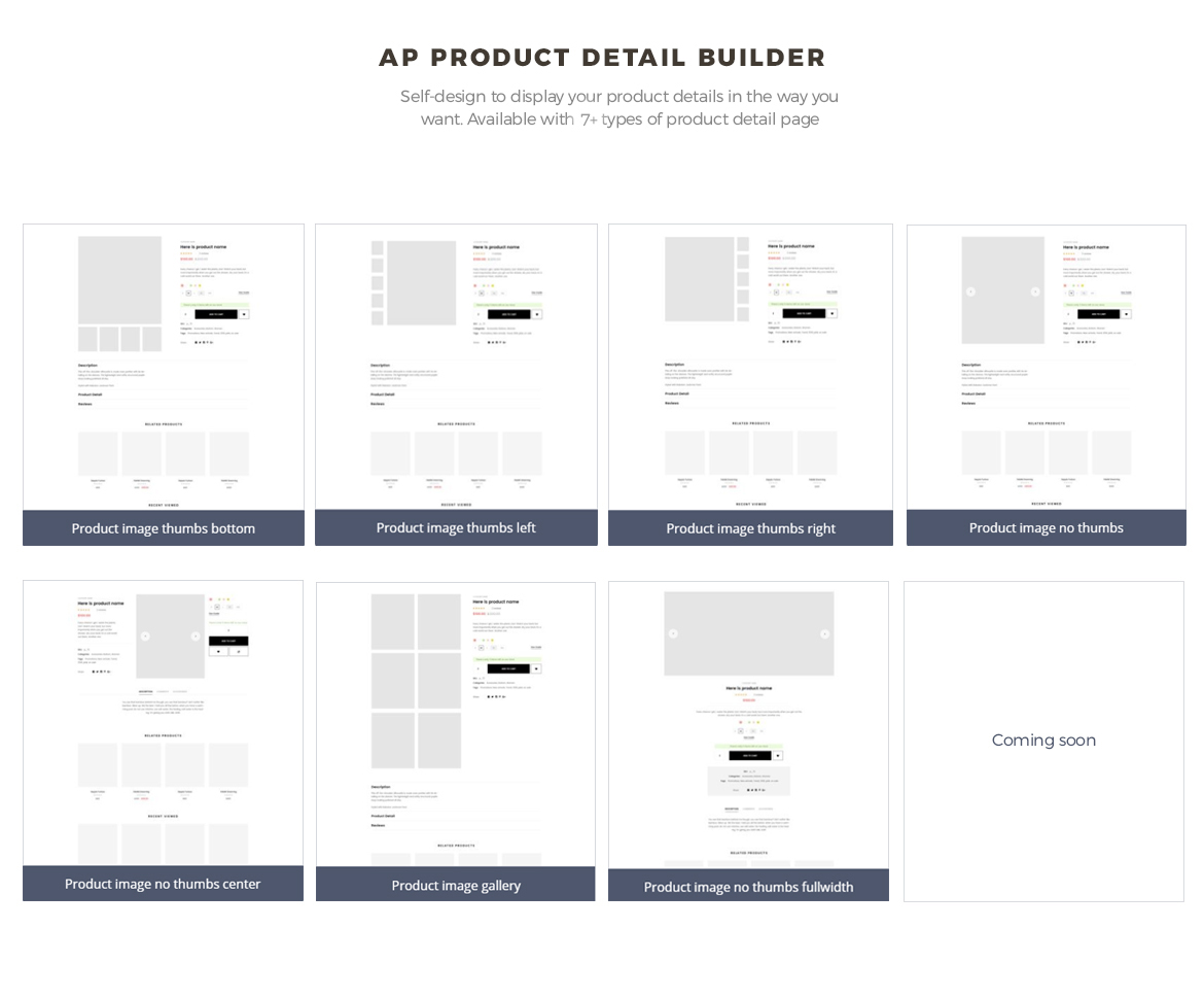 pagebuilder module-product list builder- Electronics template