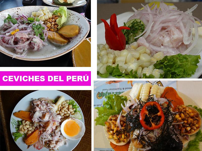 Ceviches del Perú