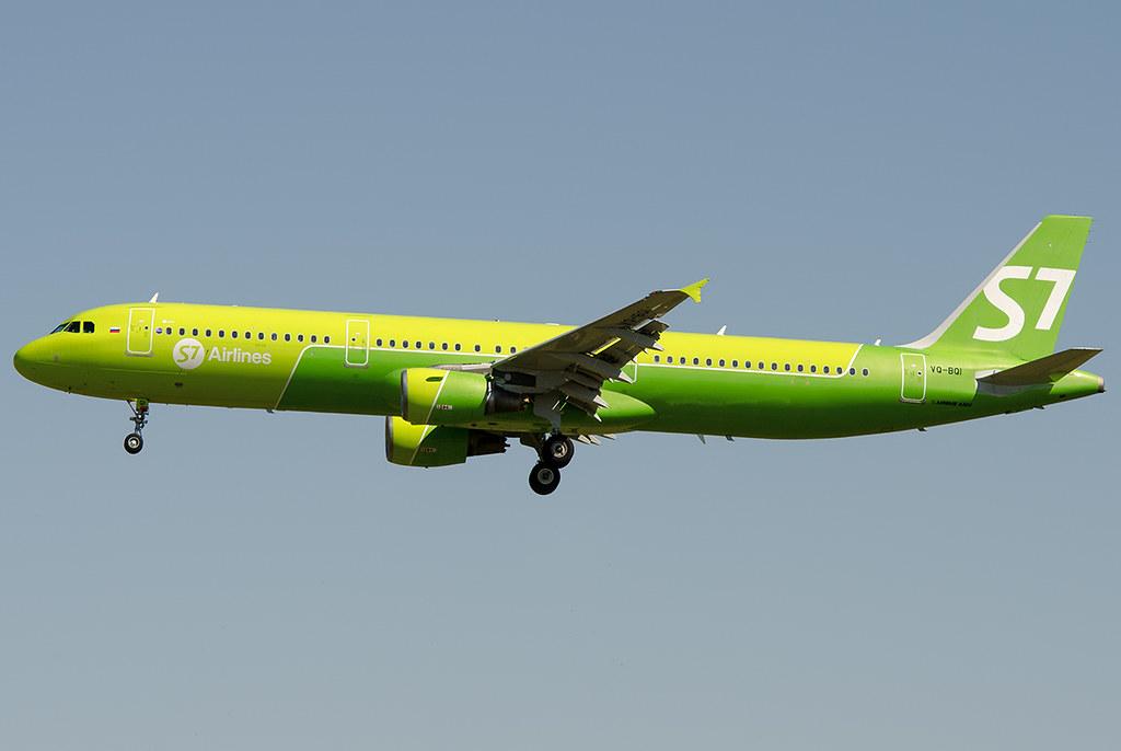 VQ-BQI S7 - Siberia Airlines Airbus A321-211