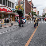 那覇市国際通 The main drag Kokusai Dori was closed to vehicle traffic on Sunday.