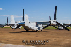 168337 USMC | Bell/Boeing MV-22B Osprey | Millington-Memphis Airport