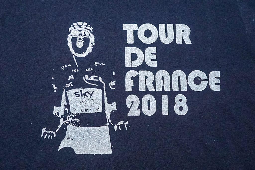 Tour de France 2018 Winner Geraint Thomas