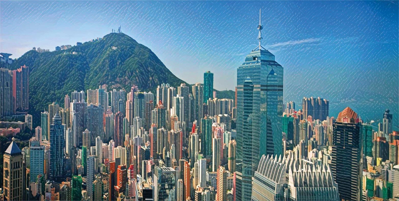 Modern-Day Hong Kong