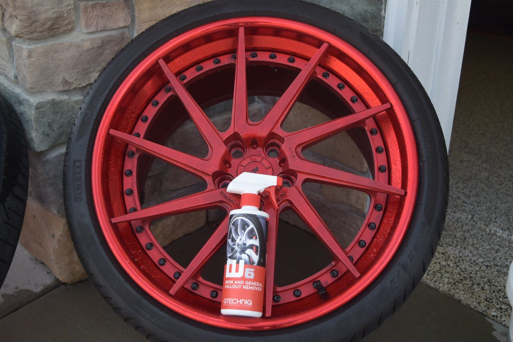 Wheel Decontamination