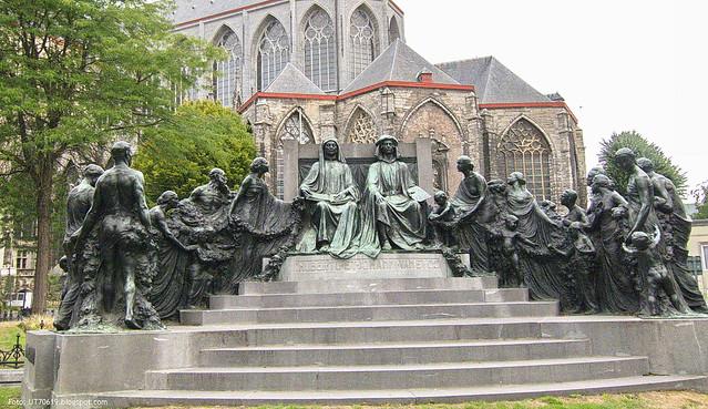 Denkmal für die Brüder van Eyck