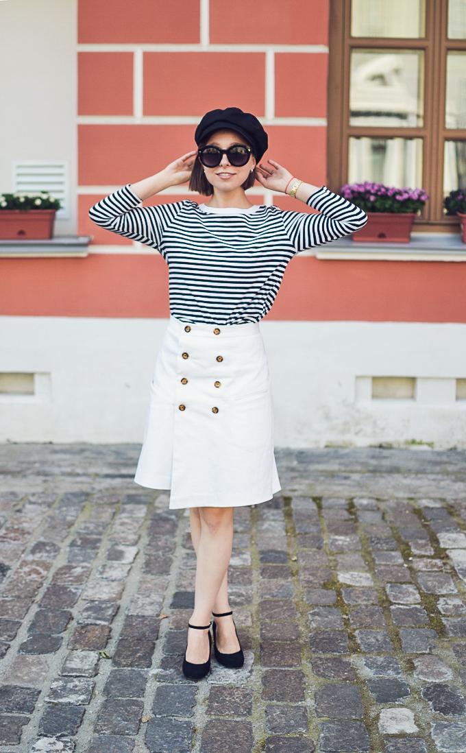 double button wrap skirt vikisews amelia юбка амели-26