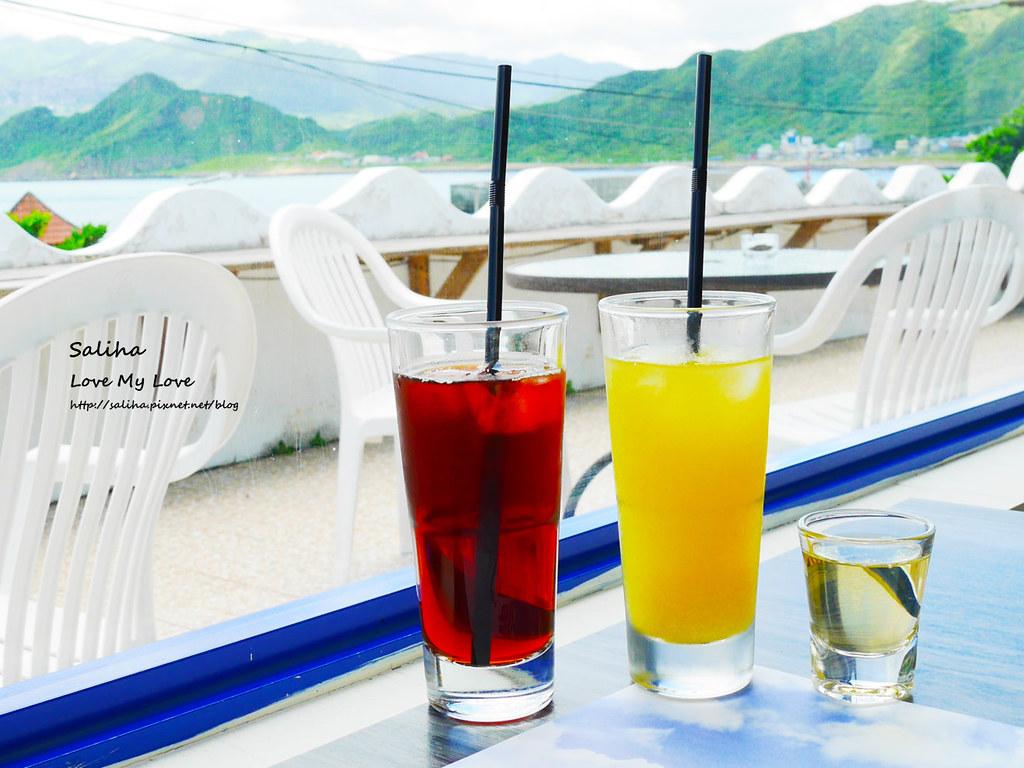 基隆海景景觀咖啡館下午茶希臘天空排餐 (2)