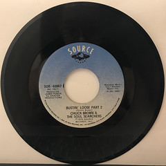 CHUCK BROWN & THE SOUL SEARCHERS:BUSTIN' LOOSE(RECORD SIDE-B)