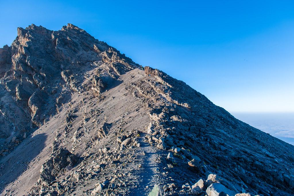 Descendng from Mount Meru