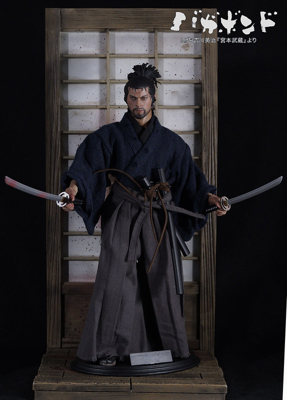 1/6 Wolfking Miyamoto Musashi from graphic novel 'Vagabond'  43472857394_6f8b80bee2_c