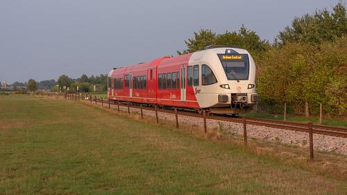 Varsseveld Arriva GTW 366 als trein 30972 Arnhem