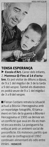 TENSA ESPERANÇA al Regió 7, 2009