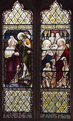 Baptism of Christ, Miracle at Cana (Heaton, Butler & Bayne? 1890s)