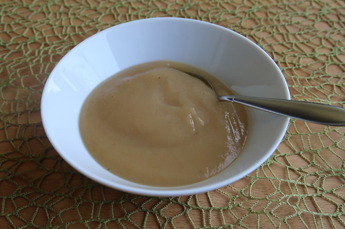Apfelmus (Schälchen zum Frühstück)