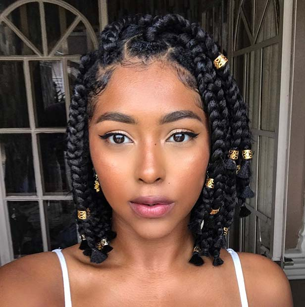 Stunning Medium Box Braids Try in 2019 You Will love it 2