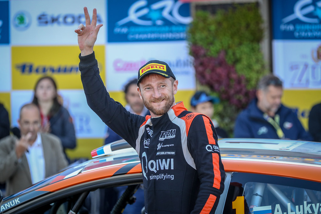 Lukyanuk Alexey, RUS, Russian Performance Motorsport, Ford Fiesta R5, Portrait during the 2018 European Rally Championship ERC Barum rally,  from August 24 to 26, at Zlin, Czech Republic - Photo Alexandre Guillaumot / DPPI