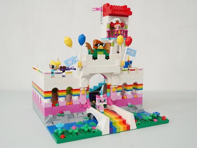 LEGO Unikitty castle