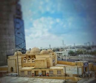 Abdullah Shah Ghazi (Arabic: عبد الله شاه غازي) (c. 720) was an eighth century Muslim mystic and Sufi whose shrine is located in the Clifton neighbourhood of Karachi, Pakistan.