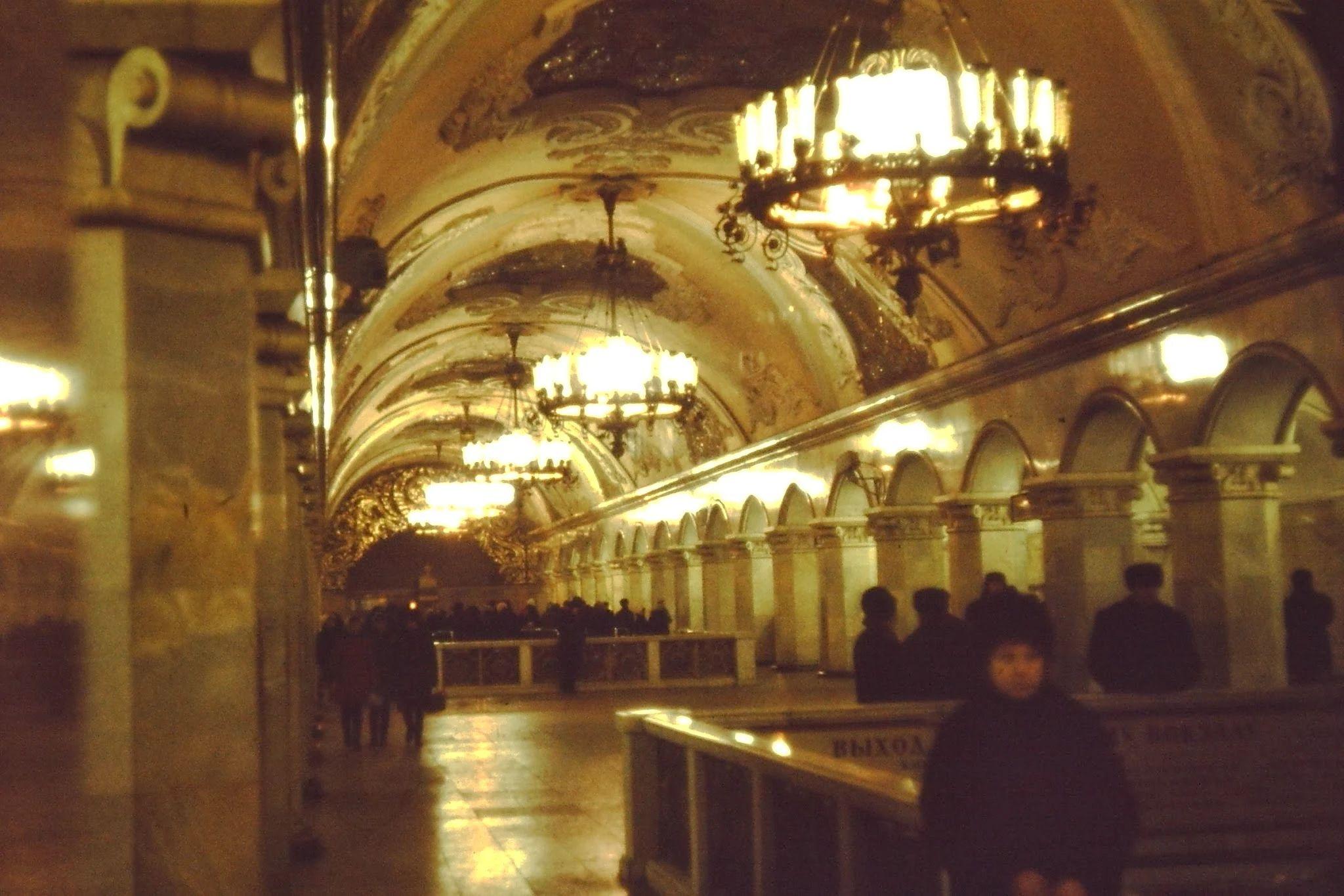 08. Станция метро. Барокко