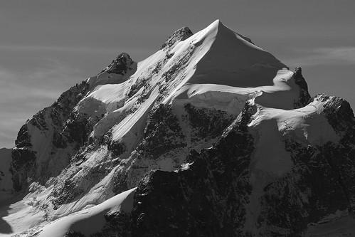 Piz Roseg. (3 937 m), Switzerland