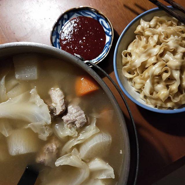 20180911 √曾拌麵 √肉骨茶蔬菜湯 #葛蘿的餐桌