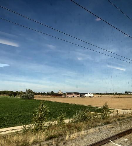 La ferme de la Grande Rosière, Autreppe (Ath), Hainaut, Belgique.