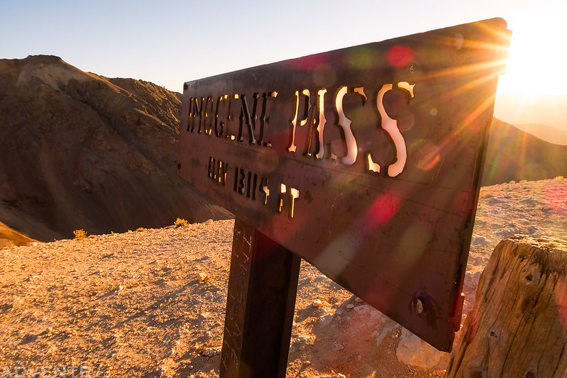 Imogene Pass Sign