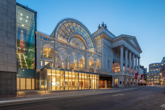 Royal Opera House exterior (c) ROH, Photo by Luke Hayes 2018