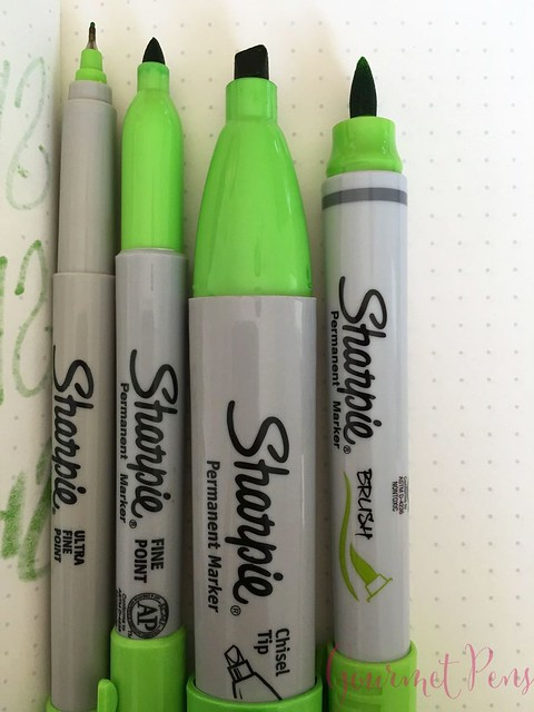 Sharpie Brush Pen @JetPens  14