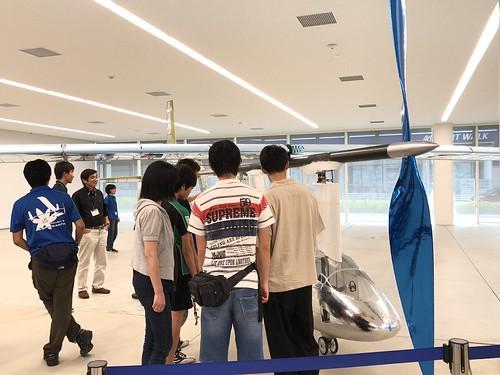 名古屋大学 人力飛行機 制作サークル AirCraft Zephyranthes コックピット〜プロペラ周囲 IMG_0983