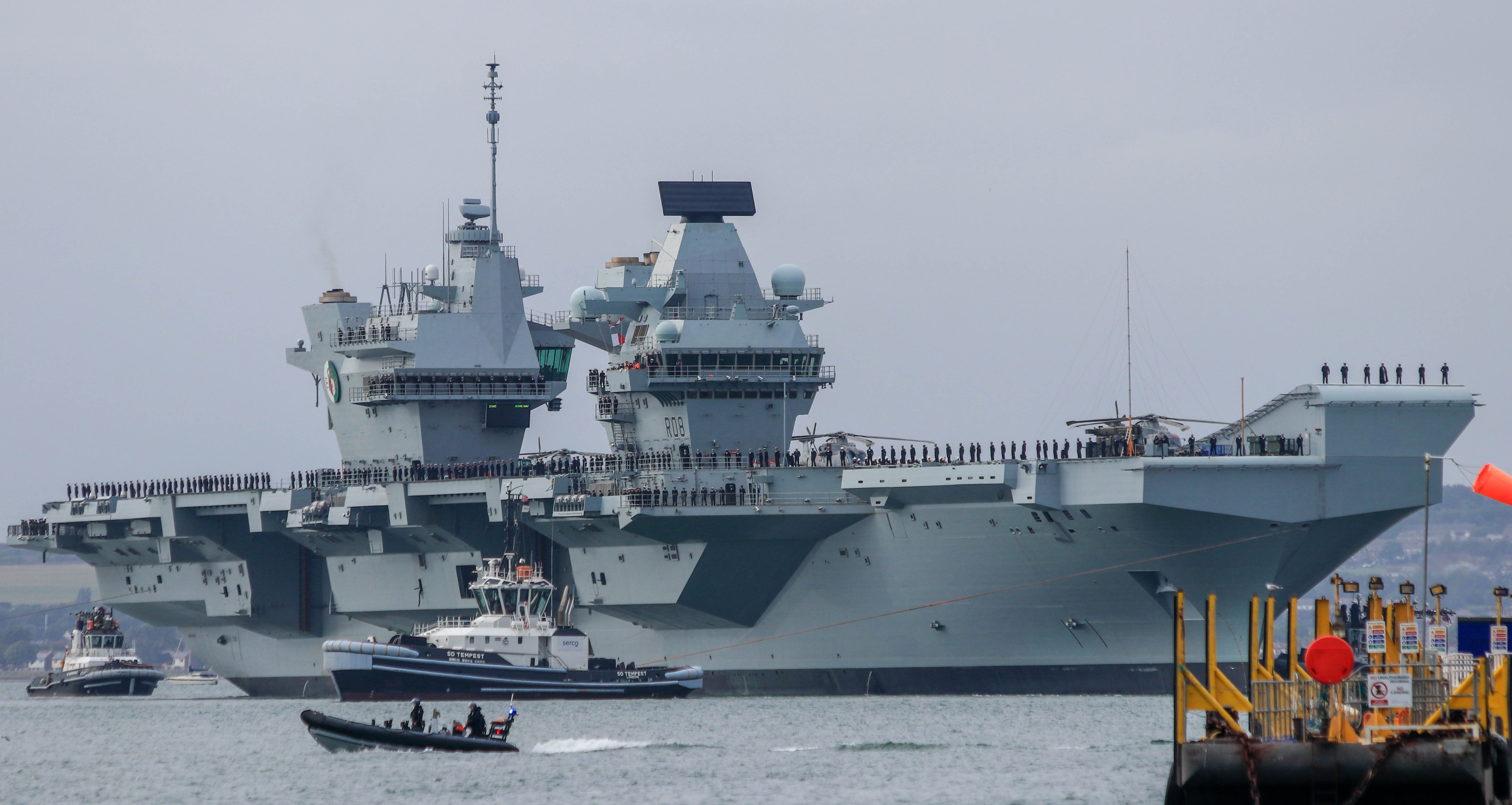 Aircraft Carrier (HMS Queen Elizabeth & HMS Prince of Wales) - Page 26 29187847857_d908ff4c74_o