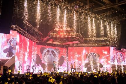 BIGBANG via pandariko - 2018-09-05  (details see below)