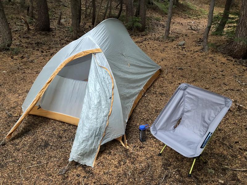 Carl Lake campsite