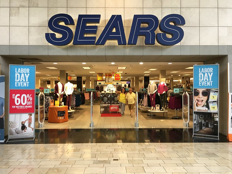 Second Day Of Sears Store Closing Miami International Mall
